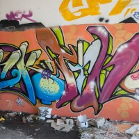 Gießen - Air Base - Graffiti von 2009 (Part 1)