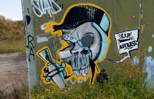 Graffiti Gießen Air Base