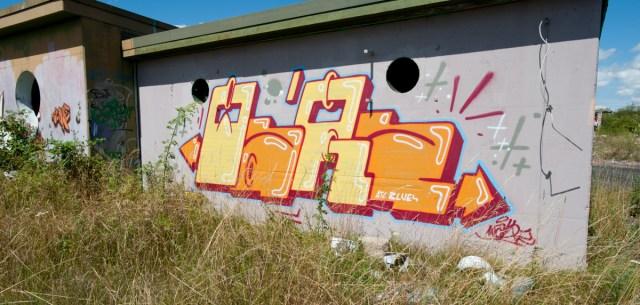 2009-07-13 D700 Graffiti Gießen Air Base 137