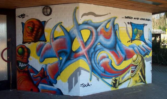 Graffiti Schelmengraben