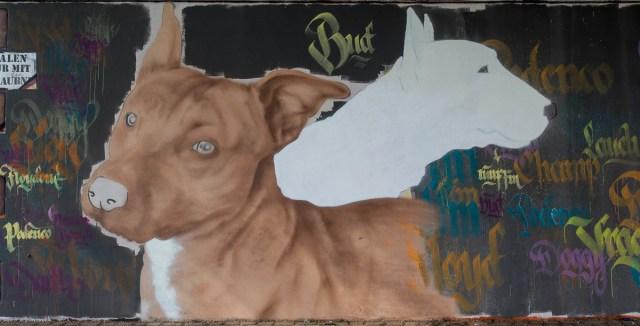 2014-05 EM1 Graffiti Frankfurt Friedensbrücke 006