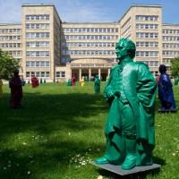 Goethe auf dem Campus Westend