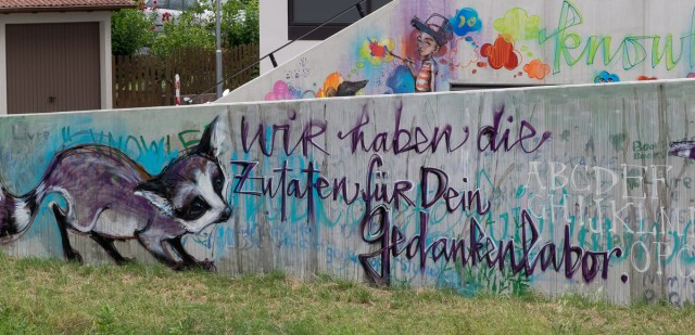 Bad Vilbel Graffiti Herakut