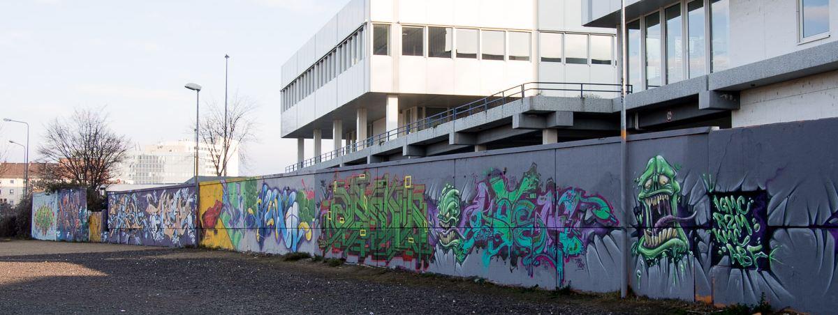 Wiesbaden - Schlachthof, Murnaustraße