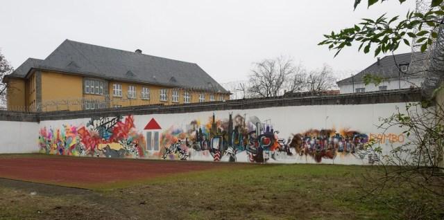 Graffiti JVA Höchst