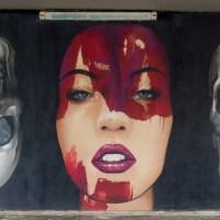 Graffiti-Projekt an der Schwanheimer Brücke