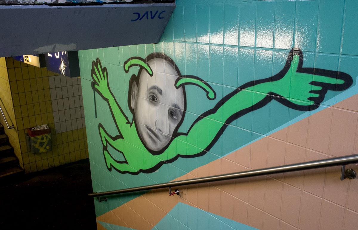 """Graffiti Projekt am Bahnhof  - """"Gelnhausen kann sich sehen lassen"""" (Part 1)"""