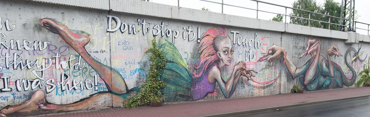 2011-06-21 D700 Graffiti Bad Vilbel Bahndamm 030