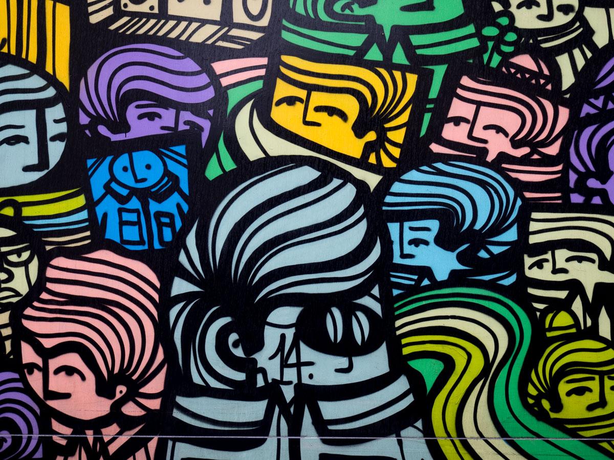 Graffiti & Streetart im Frankfurter Stadtgebiet (25 Bilder)