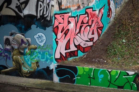 Mainz Graffiti Am Gonsenheimer Sand