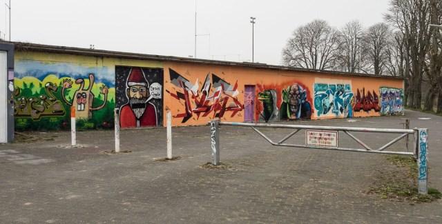 Graffiti Bad Vilbel Schwimmbad