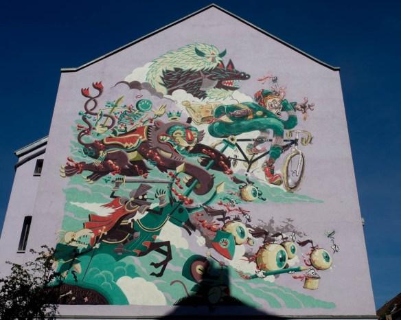 Graffiti Düsseldorf