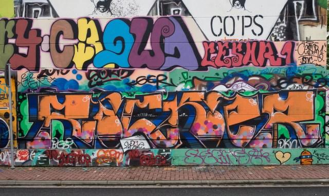 Graffiti Gelnhausen Hall of fame