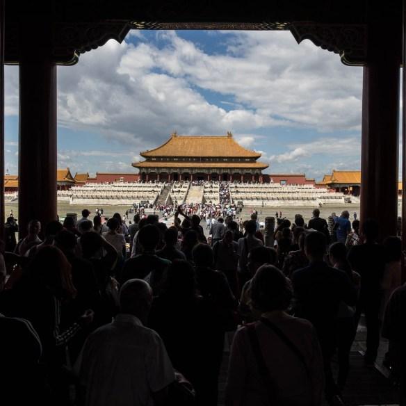 Reise Beijing Verbotene Stadt