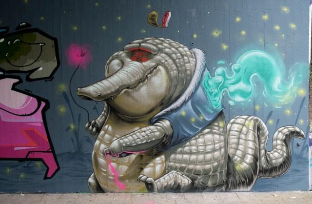 Graffiti Mainz Am Gonsenheimer Sand