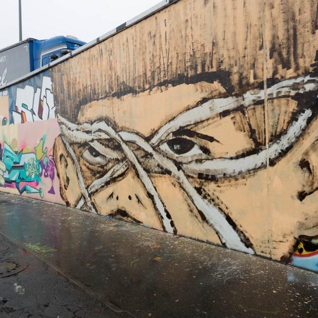 Frankfurt Graffiti Ratswegkreisel