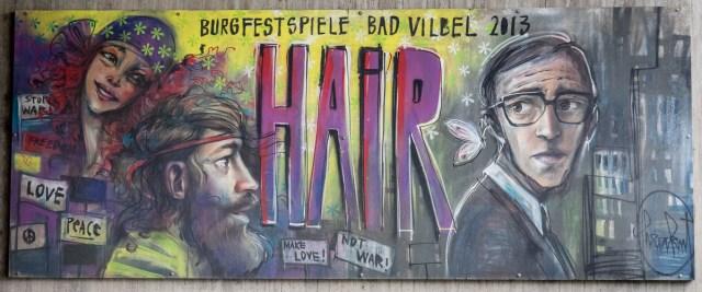 Herakut Burgfestspiele Bad Vilbel