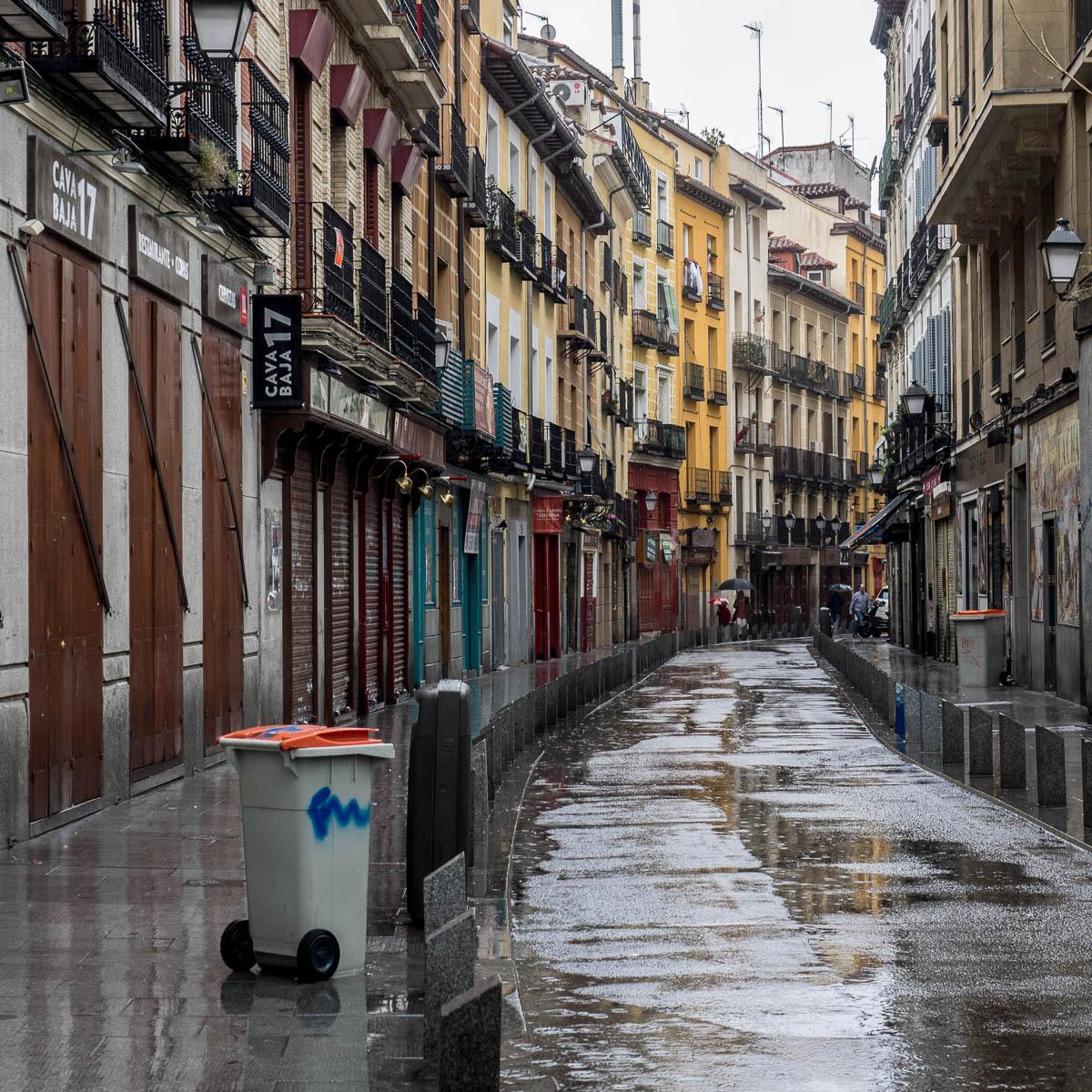 Madrid (Part 1/4) - Erste verregnete Eindrücke, 12 Bilder
