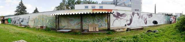 Graffiti Gelnhausen Panorama