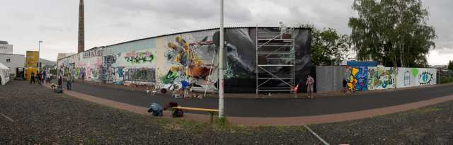 Graffiti in Gelnhausen - Lack & Lines