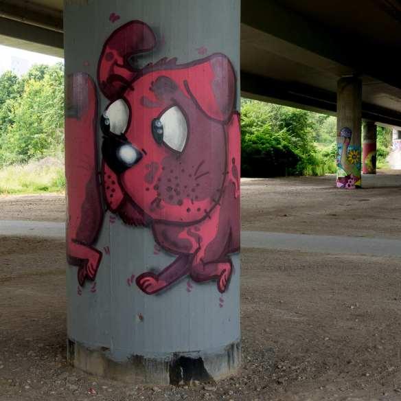 Frankfurt Graffiti Niddapark