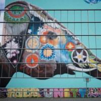 Berlin - Elefant-Mural von Jadore Tong in Kreuzberg