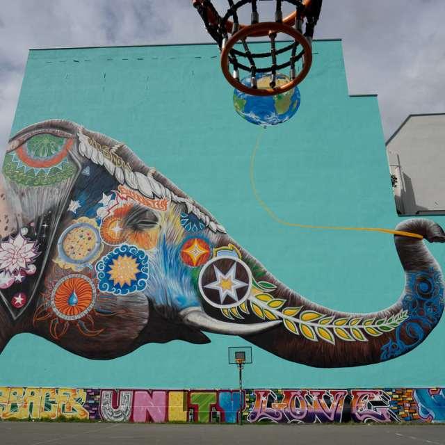 Berlin Graffiti und Streetart Jadore Tong