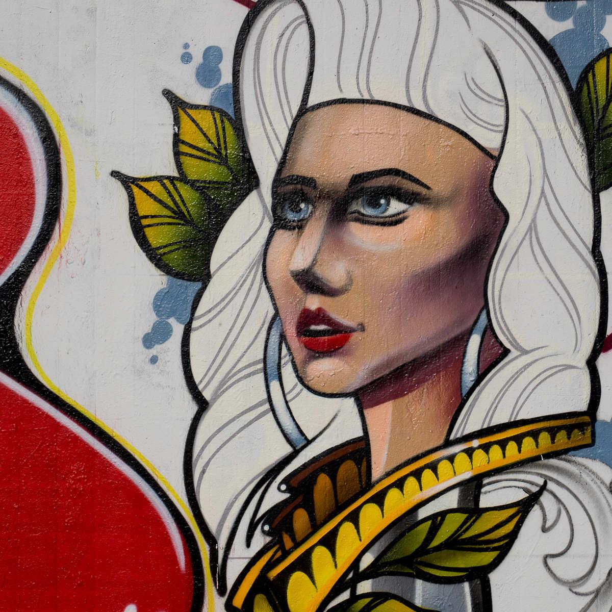 Frankfurt – Graffiti am Ratswegkreisel (82) – 05/2017 DKN