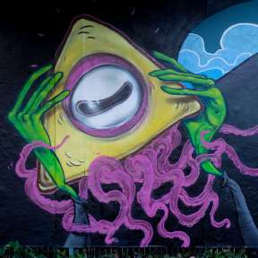 Graffiti Bonames Character JAM