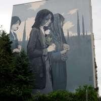 """Graffiti in Mannheim #02 - Die Murals von Stadt.Wand.Kunst - Bezt Etam Cru """"EUROPE"""""""