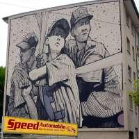 Graffiti in Mannheim #07 - Die Murals von Stadt.Wand.Kunst - Sainer