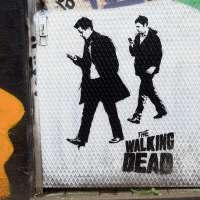 Graffiti & Street Art in Dortmund #03 – The walking dead