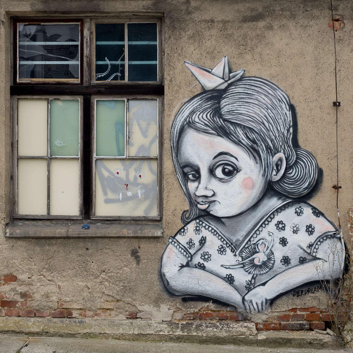 IBUg - Festival für urbane Kunst in Sachsen - Veranstaltungshinweis für die IBUg 2018 in Chemnitz/Textima