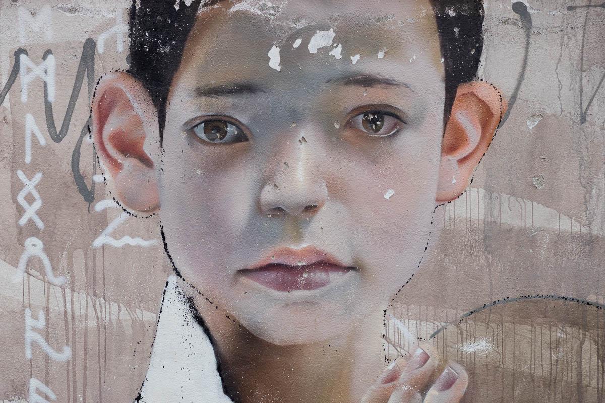 Graffiti in Frankurt - Bomber, Akut, ATOM, CANTWO & Hera in der Bonifatius Schule (15 Bilder)