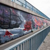 Graffiti in Raunheim - Hafenjam 2 (Sommer 2019)