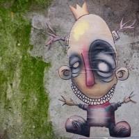 Street Art & Graffiti in Amsterdam - Kooperation von Sten and Oli und Deef Feed