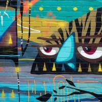 Graffiti & Street Art rund um das Alte Postlager in Mainz (02/2020)