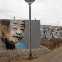 Neue legale Graffiti-Flächen im Kulturpark Schlachthof in Wiesbaden