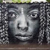 Graffiti in Darmstadt - Kunst am Alten Friedhof