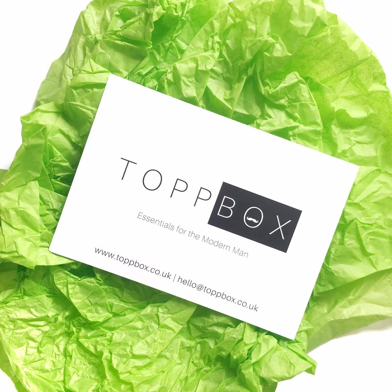 toppbox mens subscription box