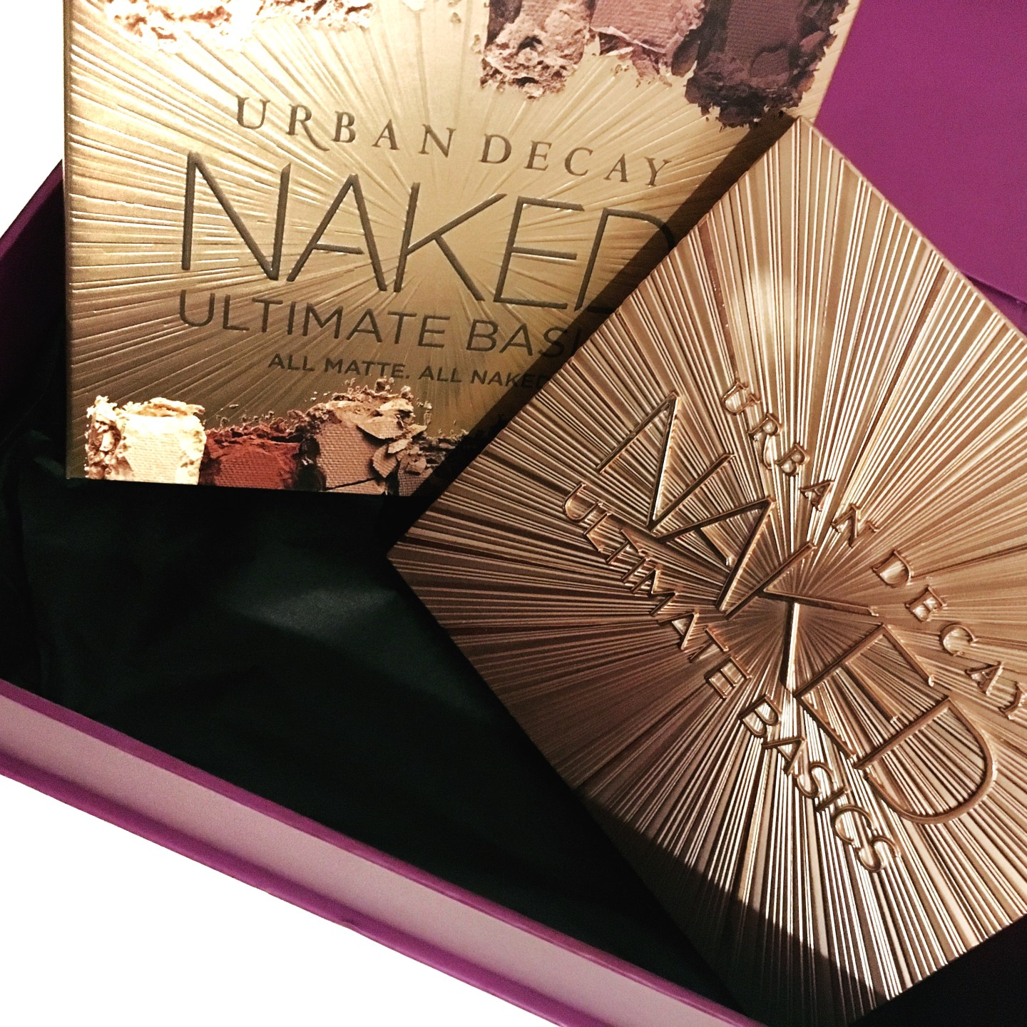 urban decay ultimate naked basics eyeshadow palette review swatches
