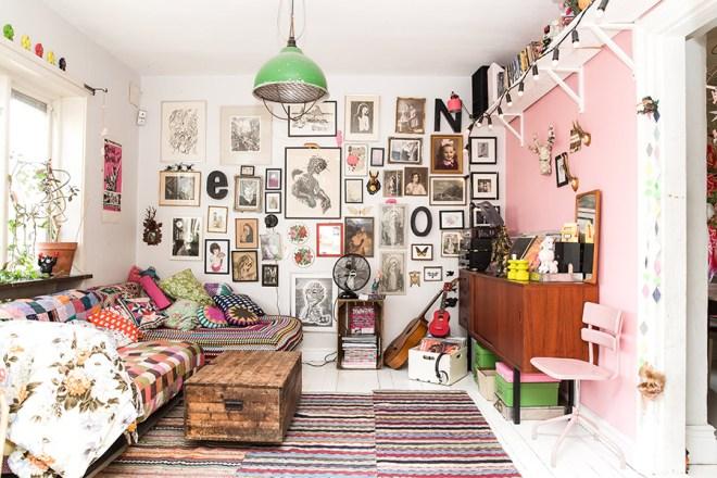 BAM- this is how you make a livingroom interesting