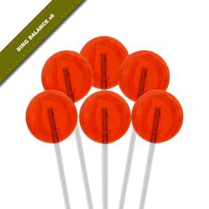 6-pack view of Dosha Pops' Bing Balance lollipops
