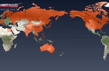 চীনের মূল ভূখণ্ডের বাইরে নতুন করোনাভাইরাসের সংক্রমণ
