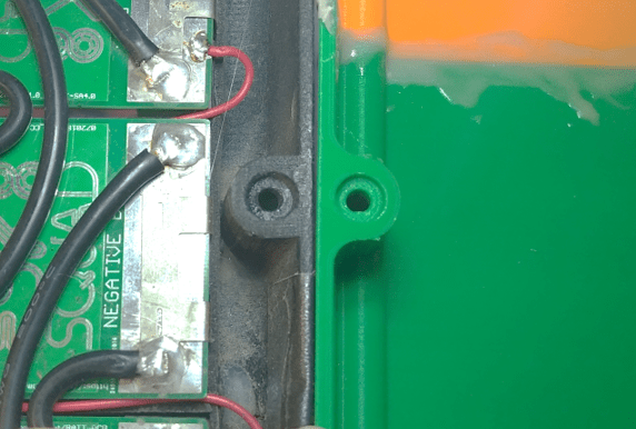 Rounded bolts