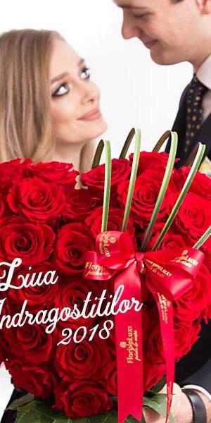 flori sfantul valentin, flori valentine's day, flori ziua indragostitilor