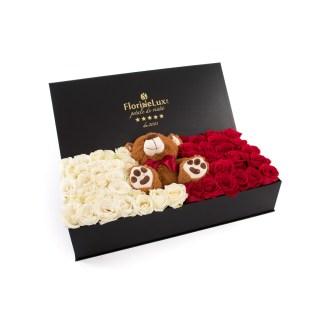 Cutie de lux Teddy Love, doar 999 RON!