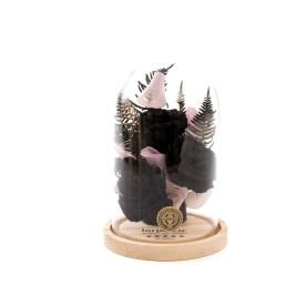 Decor trandafiri eterni Black Velvet, doar 319,99 RON!