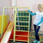 Домашний спортивный комплекс для ребенка