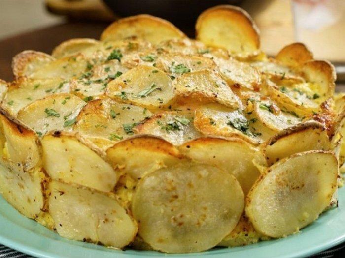 Рецепт картофельного торта